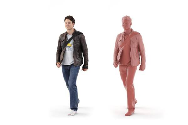 3D People: Man Luke 0089