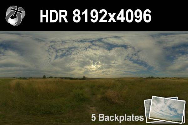 HDR 155 Cloudy Sky Plates 2