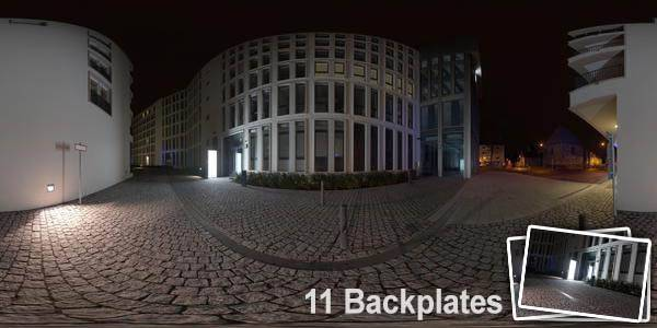 HDR 138 City Night Place Plates - Layout License