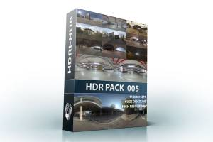 HDR Pack 005 - Bundle of 11 high resolution hdri environments. You save 40% over buying them individually.