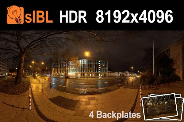 HDR City Road Night Lights (free)