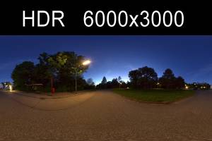 HDR Night (free) - High resolution hdr night environment in .hdr format including gi map and tonemapped version. 