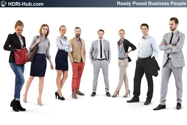 3D People Business 01