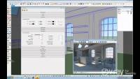 Sketchup V-Ray - Daylight Set Up (interior scene)