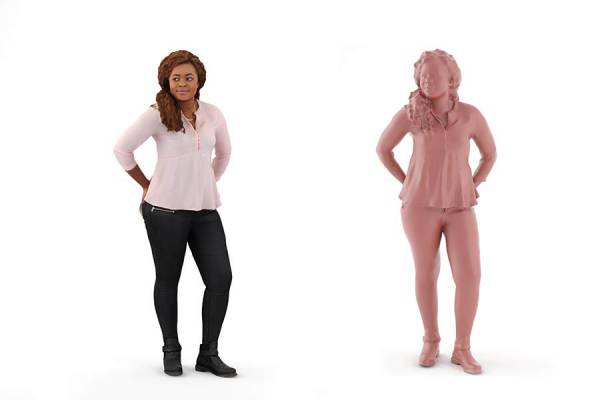 3D People: Woman Chloe 0147