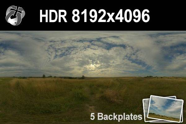 HDR 155 Cloudy Sky Plates 1