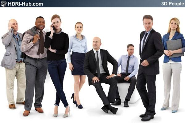 3D People Business 02