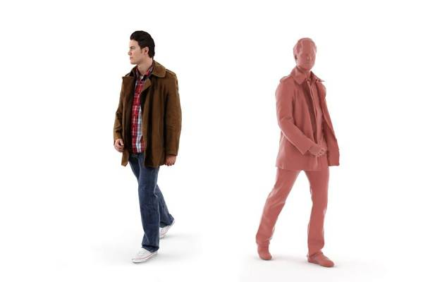 3D People: Man Luke 0098