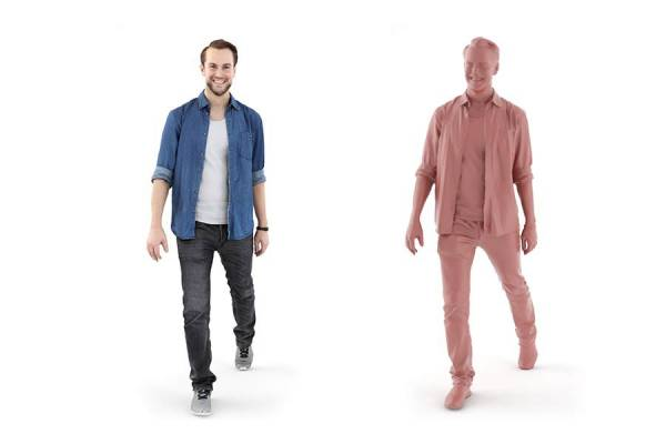 3D People: Man Joscha 0120