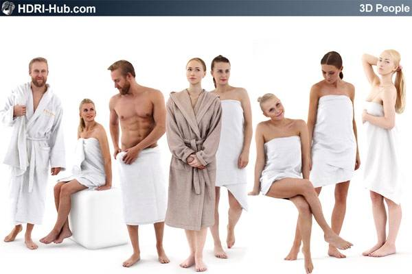 3D People Spa 01