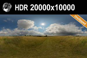 HDR 166 Sunny Storm Clouds 20k
