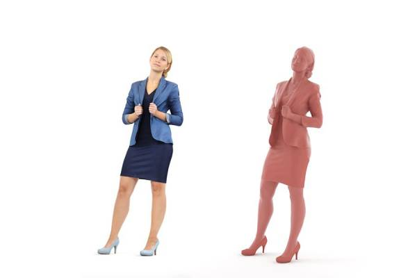 3D People: Woman Celina 0086