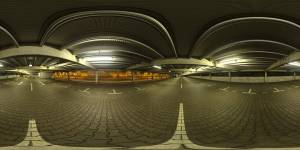 HDRI Dome: loc00178 - HDRI dome for visualizations and automotive renderings. city,evening,illuminated,indoor