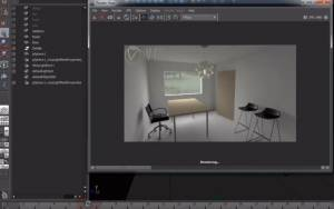 Maya V-Ray - Fly-through Animations with Indirect Illumination