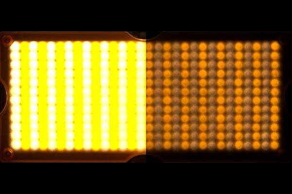 HDR Light LED Grid Yellow