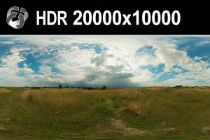 HDR 160 Cloudy Sky 20k