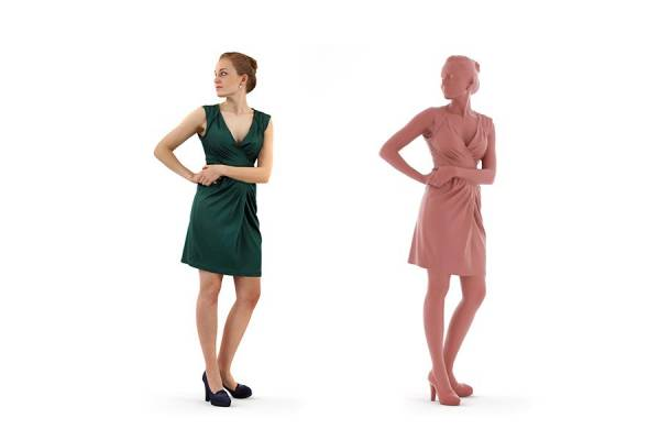 3D People: Woman Petra 0161