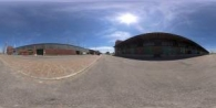 HDRI Dome: loc00014 - HDRI dome for visualizations and automotive renderings. abandoned,aged,architecture,asphalt