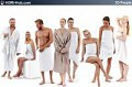 3D People Spa 01 - Collection of 8 high-detailed 3D models of scanned spa people. Already posed. 3Ds Max, C4D, Obj, Sketchup
