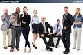 3D People Business 02 - Collection of 8 high-detailed 3D models of scanned business people. Already posed. 3Ds Max, C4D, Obj, Sketchup
