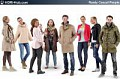 3D People Casual 03 - Collection of 8 high-detailed 3D models of scanned casual people. Already posed. 3Ds Max, C4D, Obj, FBX, Sketchup